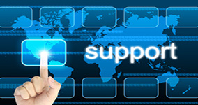 Business computer support